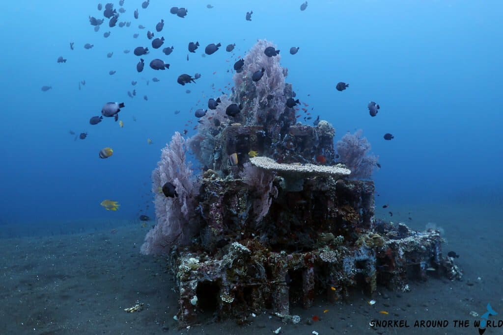 Underwater pyramids Amed - Artificial reef