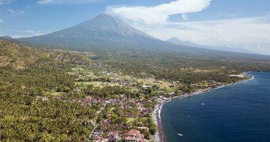 Agung Volcano eruption Amed