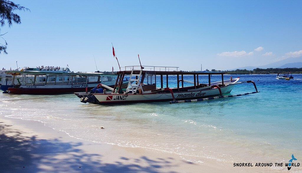 Daily snorkeling boat Bali