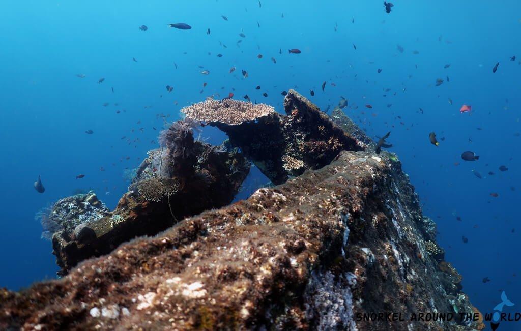 USS Liberty Wreck - Tulamben