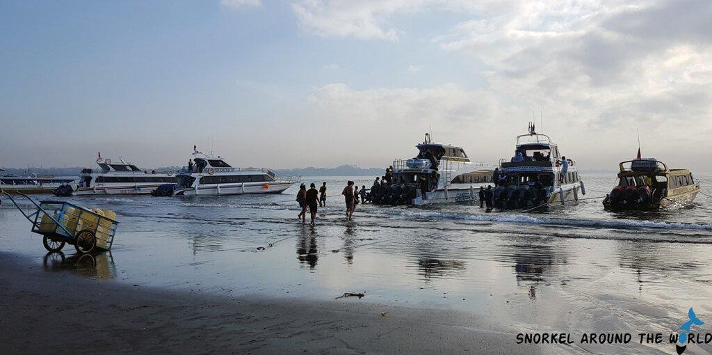Speedboats in Sanur MolaMola Express, Angel Billabong Fast Cruise, Dwi Manunggal