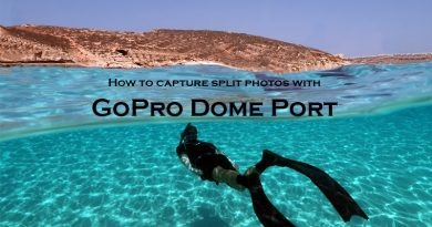 GoPro Dome port – how to take over under photos?