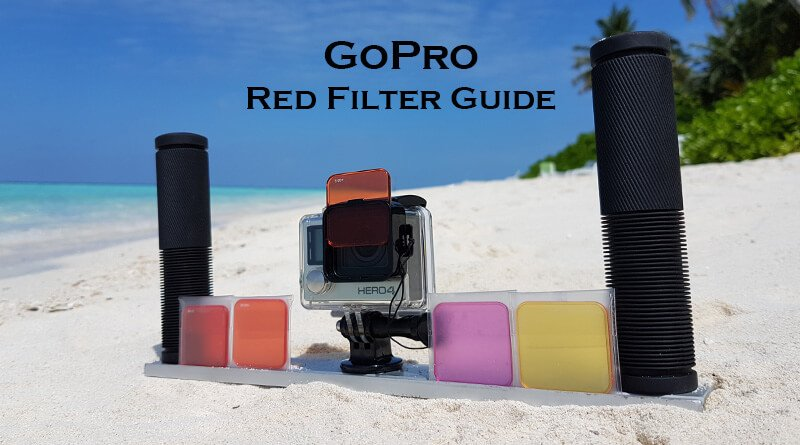 GoPro Red Filter Test on the Beach