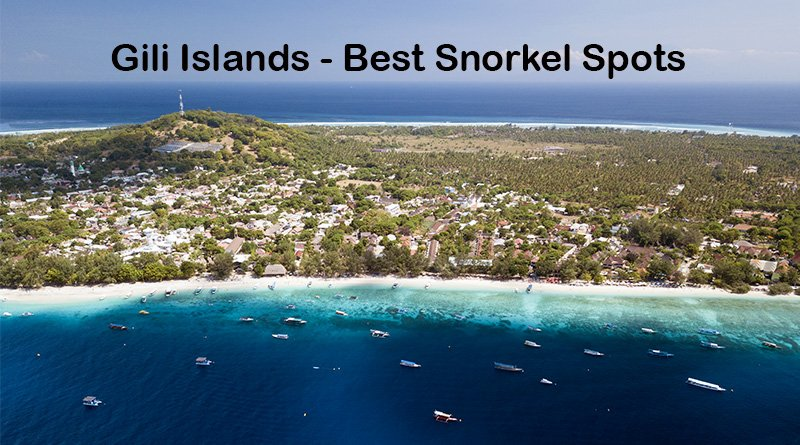 Snorkeling Gili Islands – Where to swim with turtles