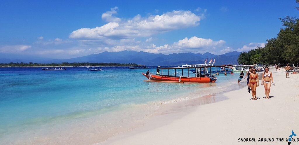 Gili Trawangan - Sandy beach