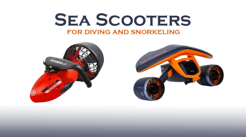 2 types of sea scooters
