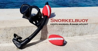 Snorkelbuoy attached to the snorkel