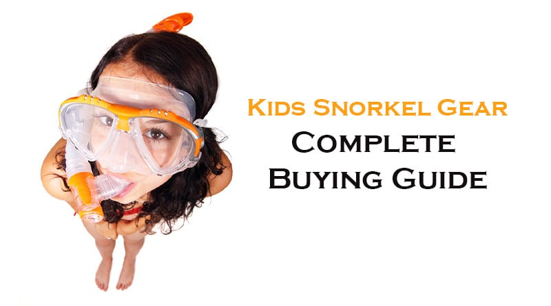 Snorkel gear for kids