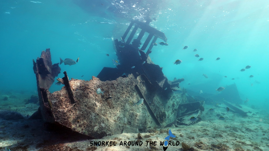 Gamma wreck underwater photo Grand Cayman
