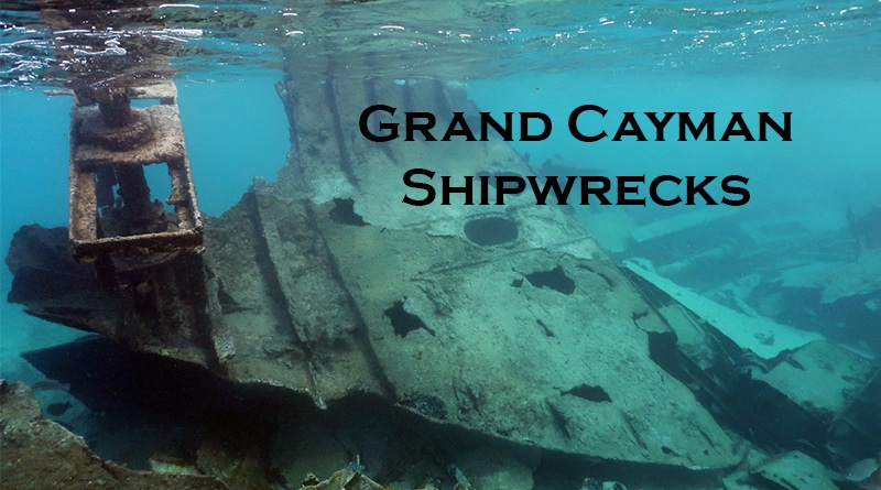 Shipwreck Grand Cayman