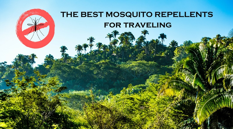 These are the most effective mosquito repellents for traveling to tropical places