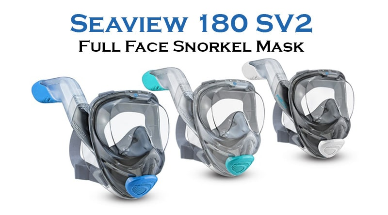 Sea view 180 sv2 Full face snorkeling mask