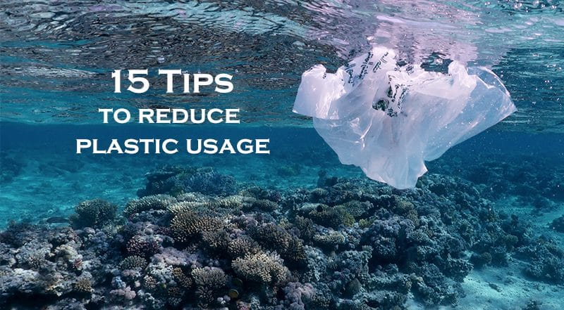 15 easy ways to reduce plastic