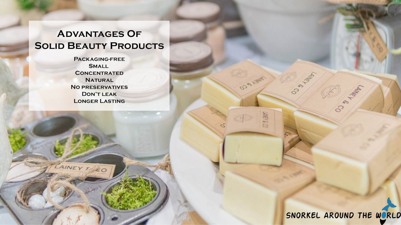 Packaging free solid shampoo advantages