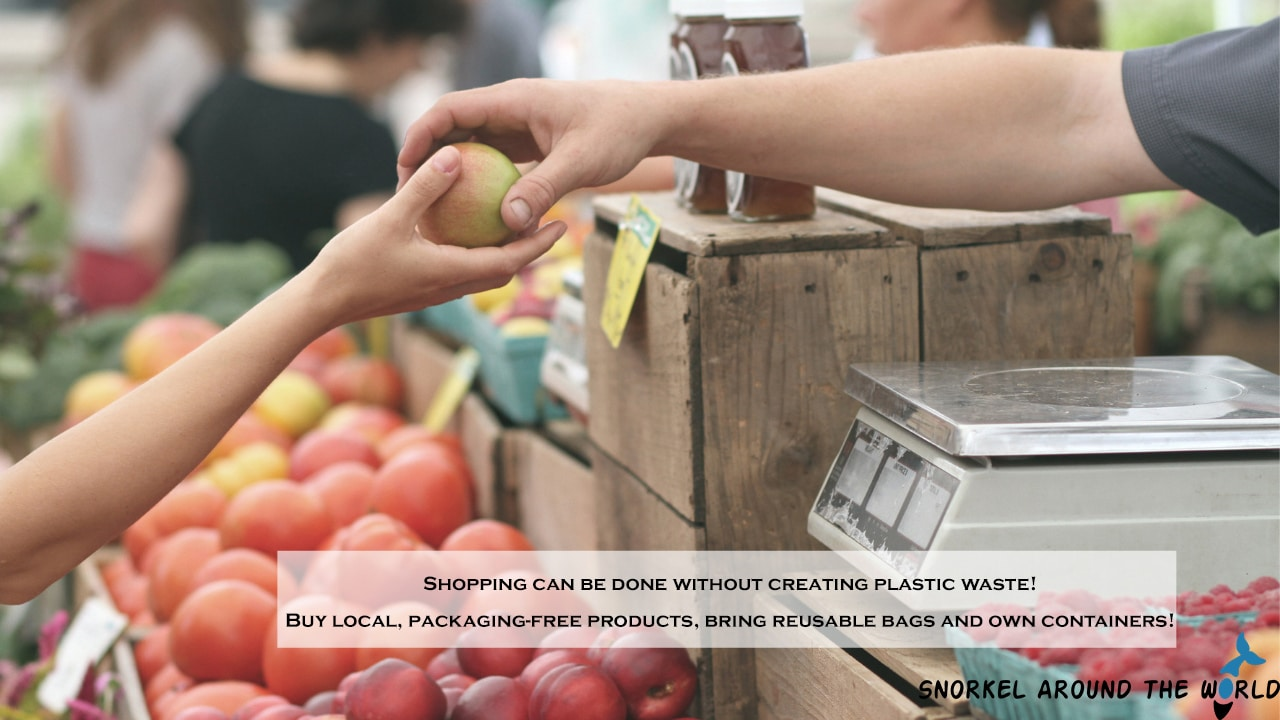 Plastic free shopping tips