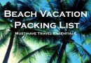 15 travel essentials that have to be on your beach vacation packing list