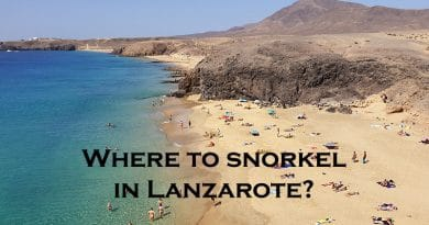 Snorkeling in Lanzarote – 5 spots you should not miss out