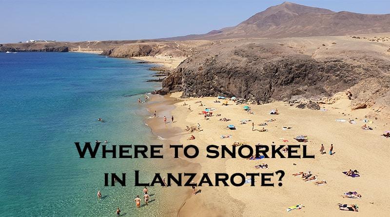 Lanzarote snorkeling