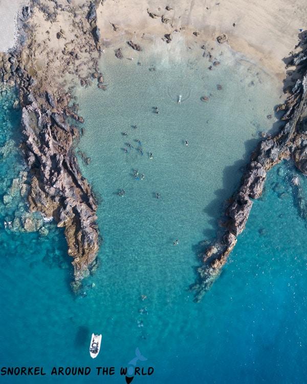 Snorkeling Playa Chica Lanzarote