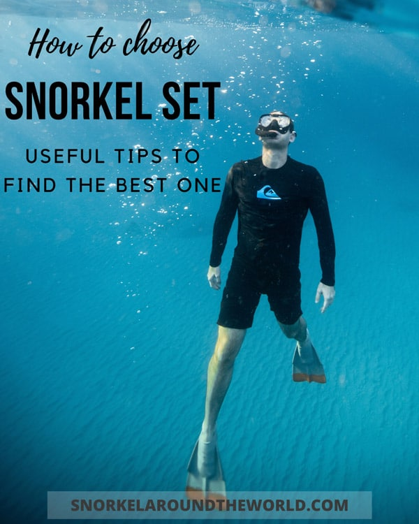 How to choose snorkel set?