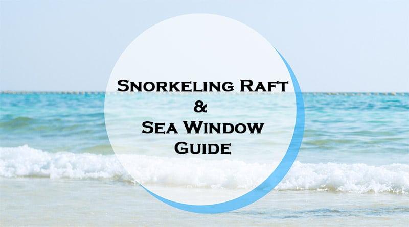 Snorkeling raft - Snorkelboard