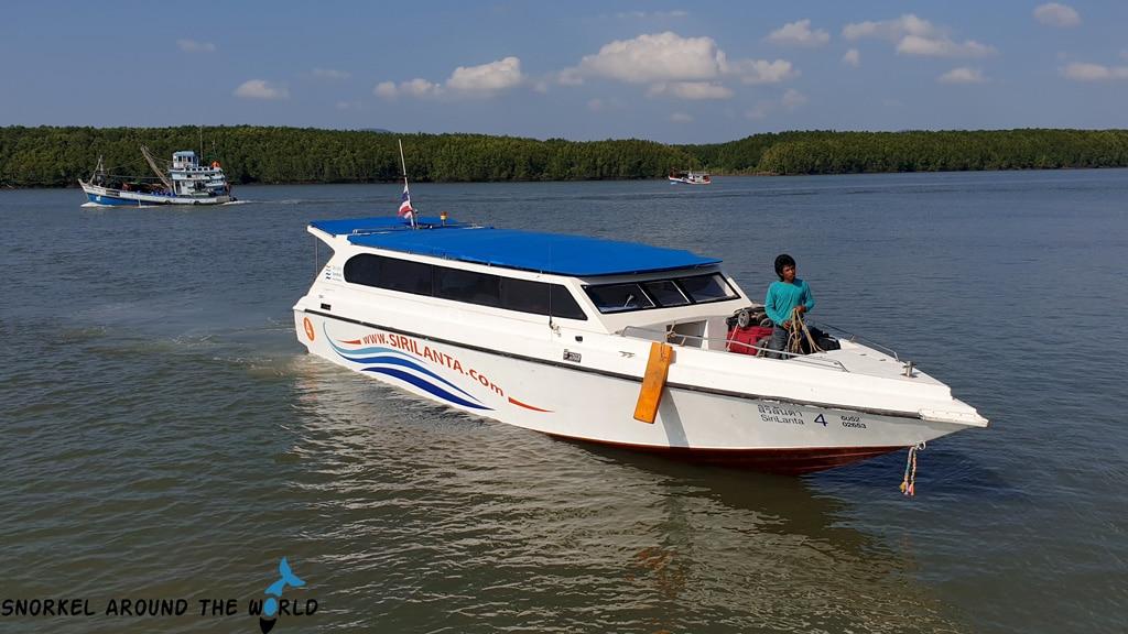Krabi-Kohngai speedboat
