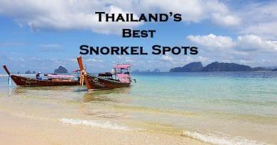Best snorkel spots Thailand