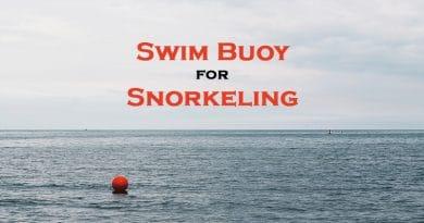 swim buoy in the sea