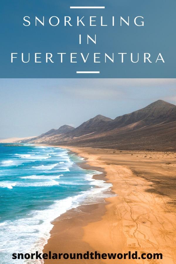 Fuerteventura snorkeling