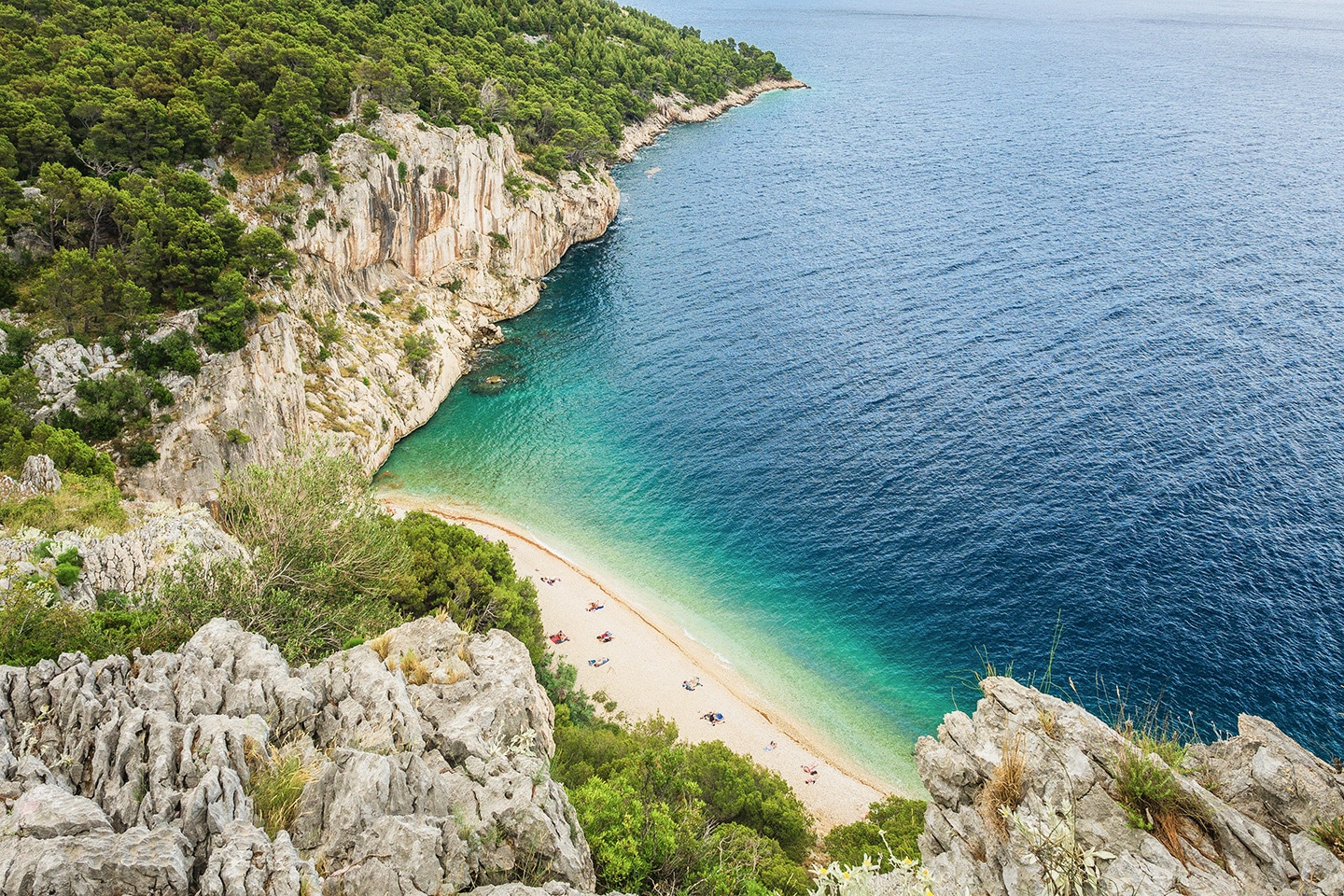 Nugal beach - Makarska
