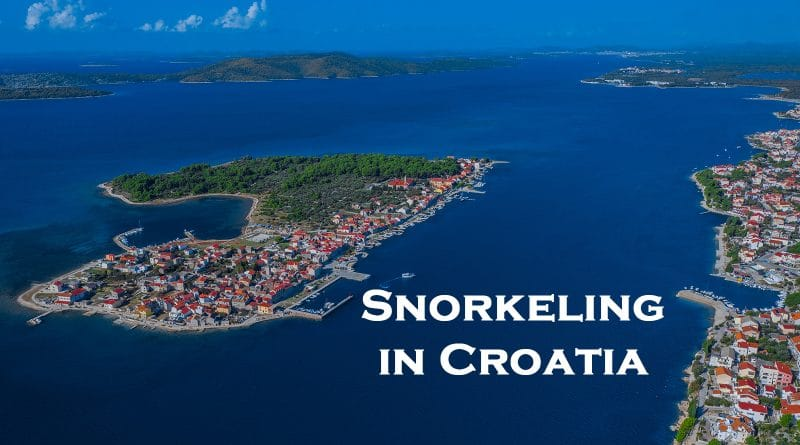 Snorkeling in Croatia