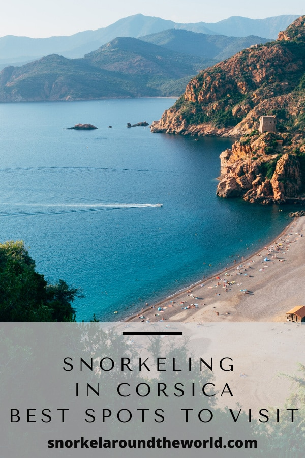 Corsica best snorkeling places pin
