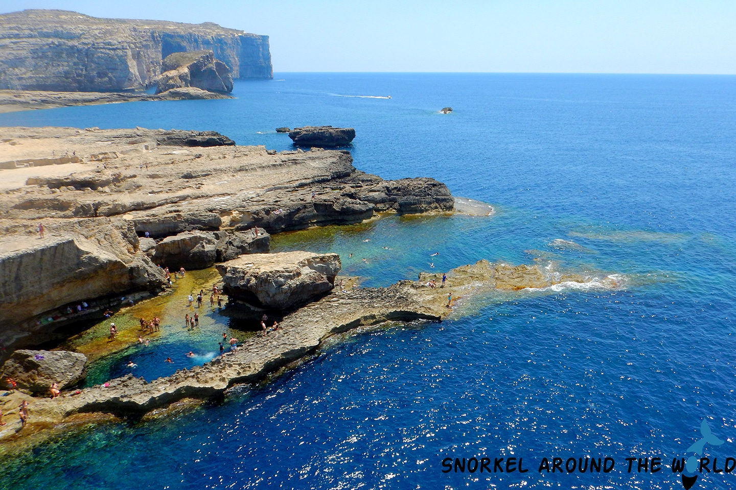 Gozo - Blue hole
