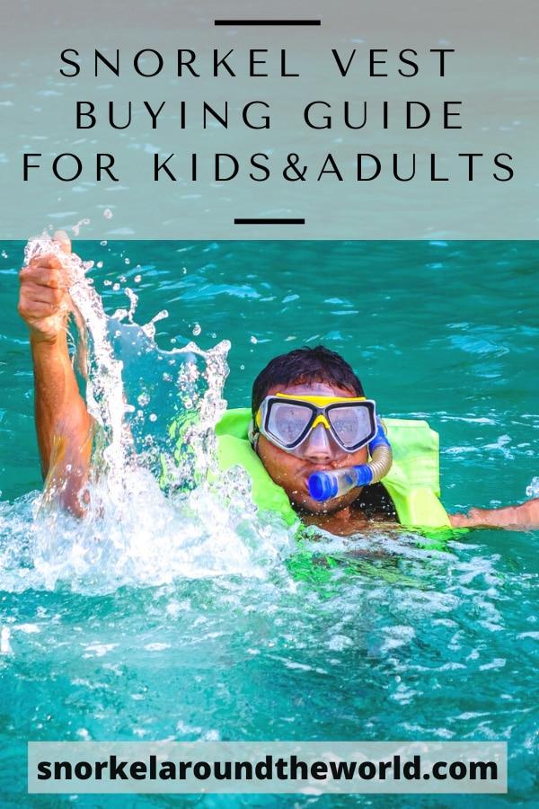 How to buy snorkeling vest
