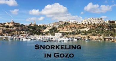 Snorkeling in Gozo