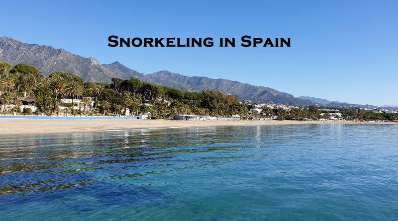 Snorkeling in Spain