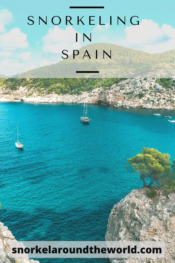 Spain - Snorkel spots pin