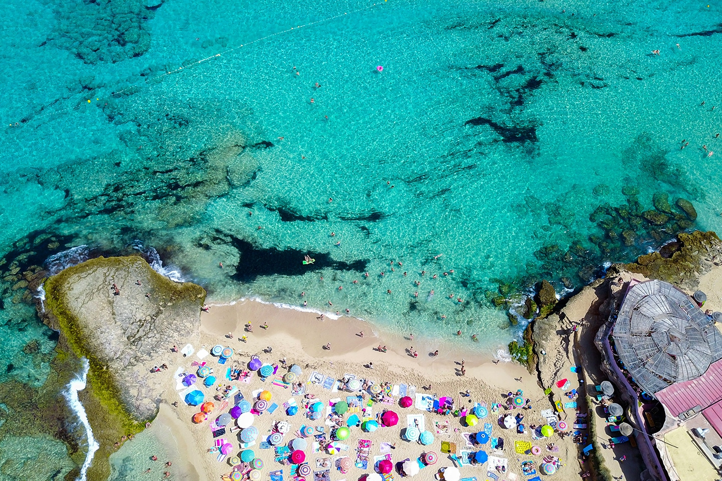 Cala Comte - Aerial photo