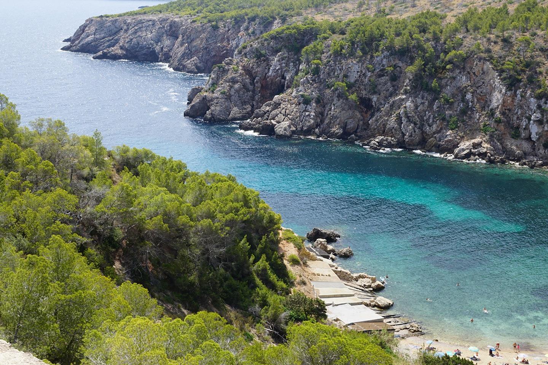 Cala den Serra beach
