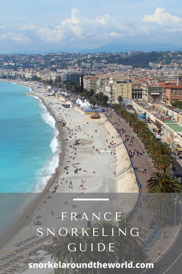 France snorkeling places-pin