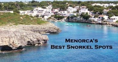 Menorca - Snorkeling places
