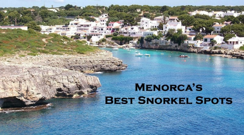 Menorca - Snorkeling places