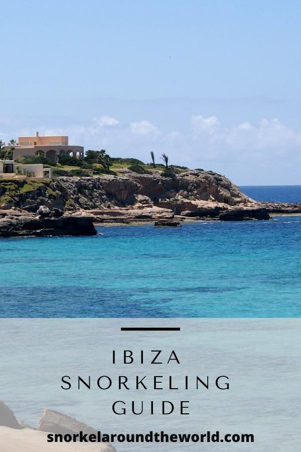 Snorkeling in Ibiza-pin