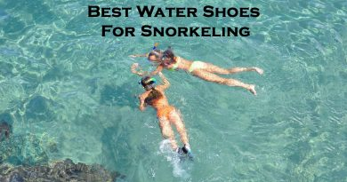 Water shoes for snorkeling