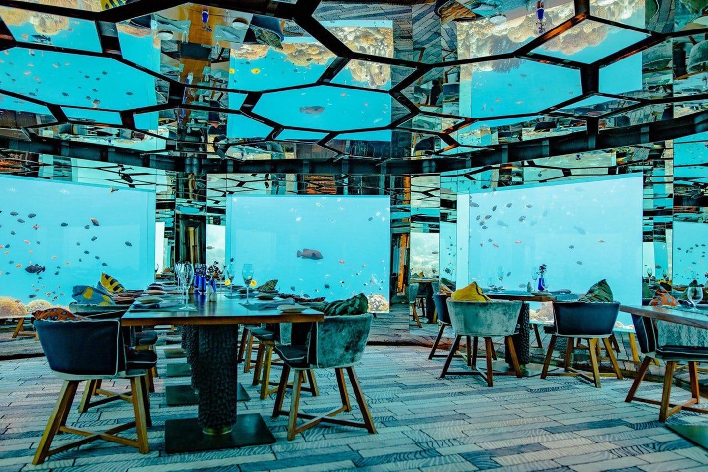 Anantara Kihavah Sea Restaurant