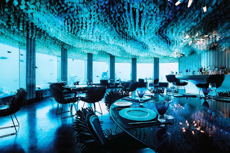 Subsix PER AQUUM Maldives Underwater bar
