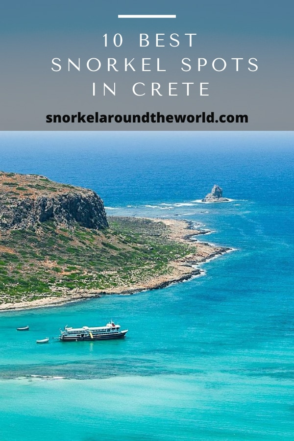 Best Crete snorkeling places