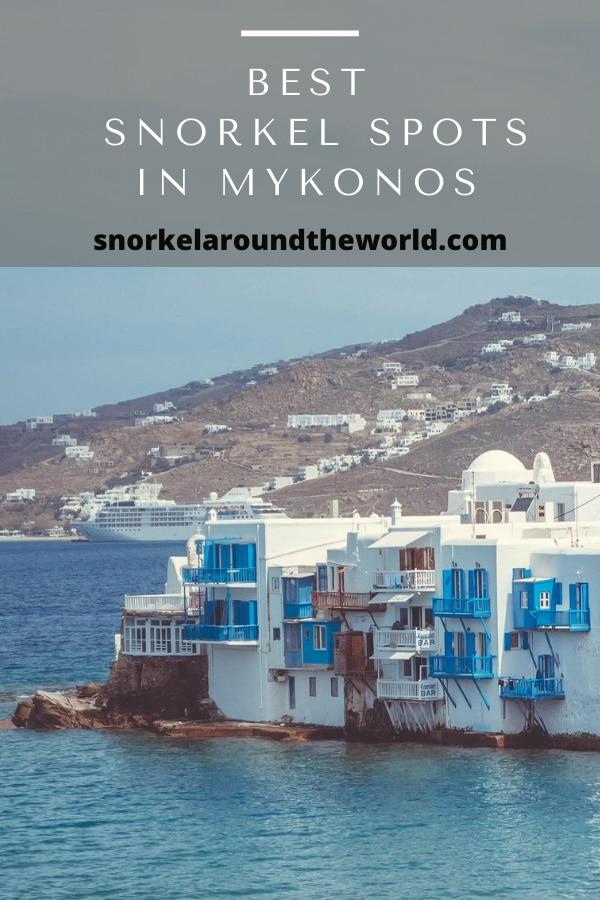 Best snorkel spots in Mykonos