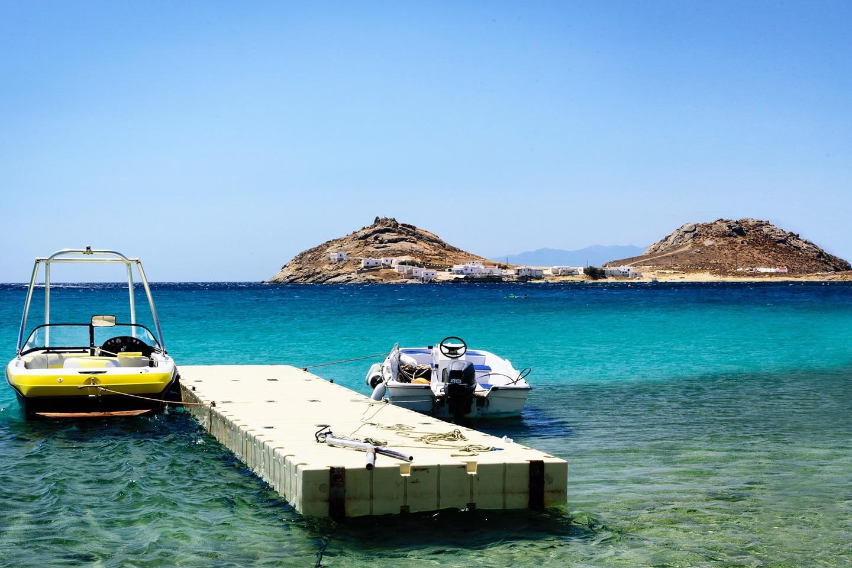 Boats at Kalafati beach