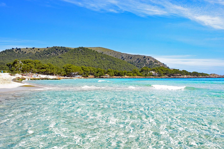 Cala Agulla beach - Majorca Spain